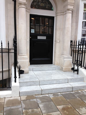 Office Entrance Before